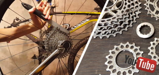 Démonter une cassette de vélo route / vtt