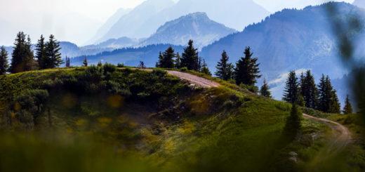 Vue sur le Mont Blanc - MB Race Ultra 2018
